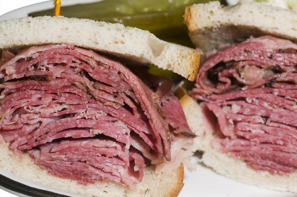 Perfect Pastrami Sandwich
